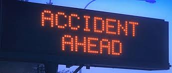 road closed accident